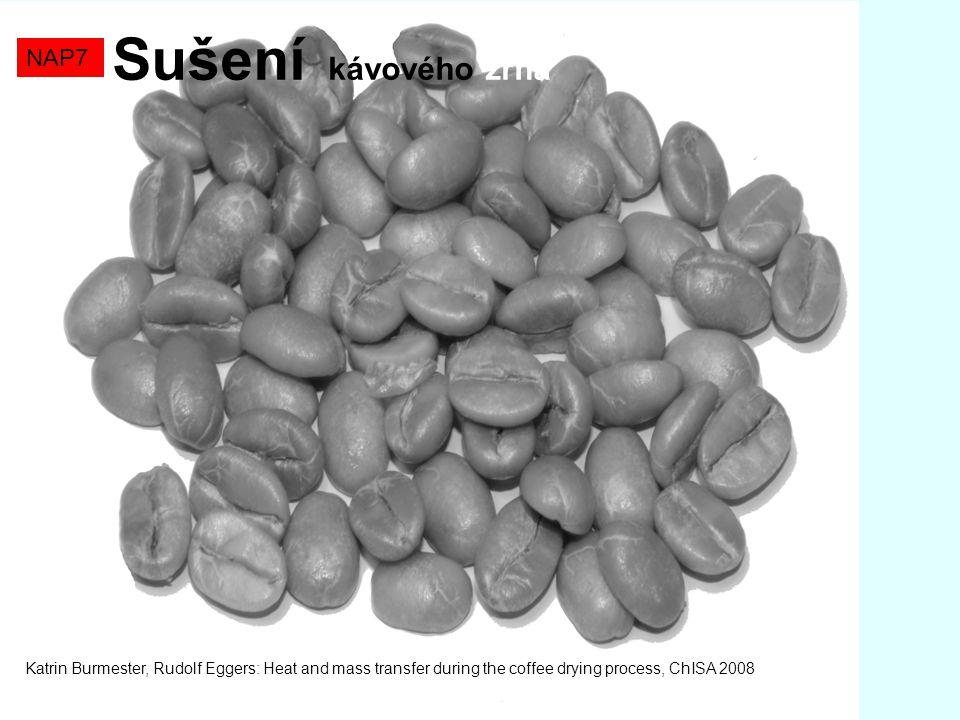 Sušení kávového zrna NAP7