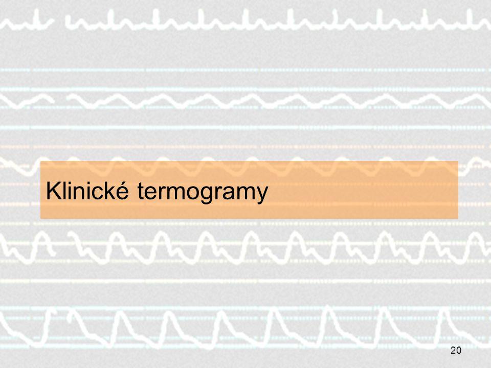 Klinické termogramy