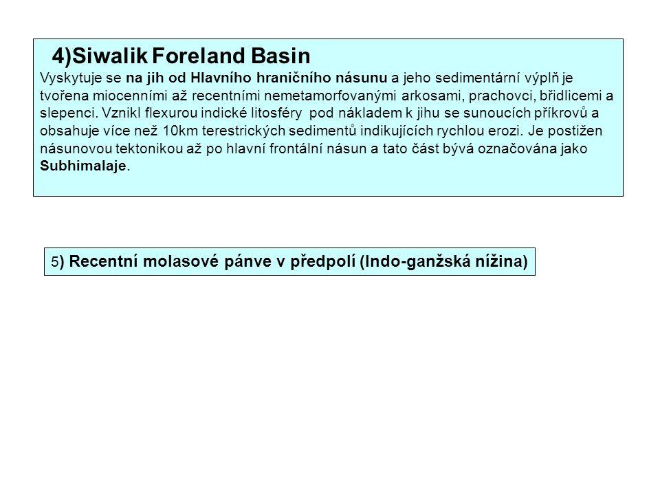 4)Siwalik Foreland Basin
