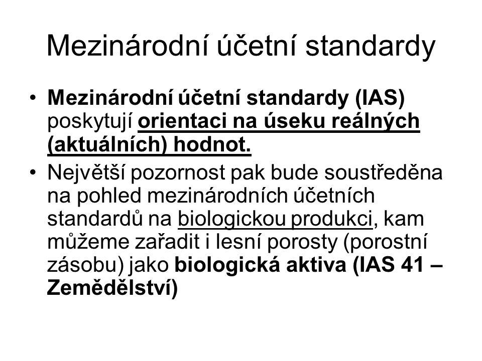 Mezinárodní účetní standardy