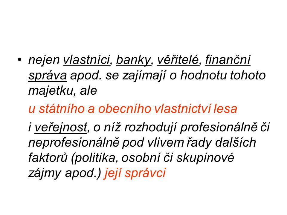nejen vlastníci, banky, věřitelé, finanční správa apod