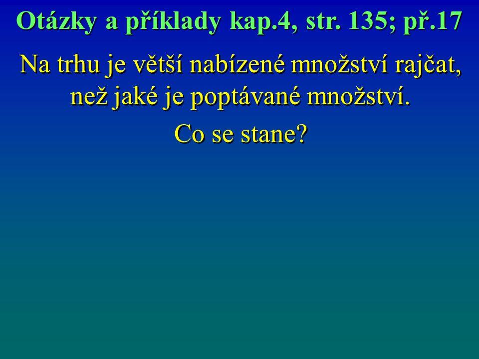 Otázky a příklady kap.4, str. 135; př.17
