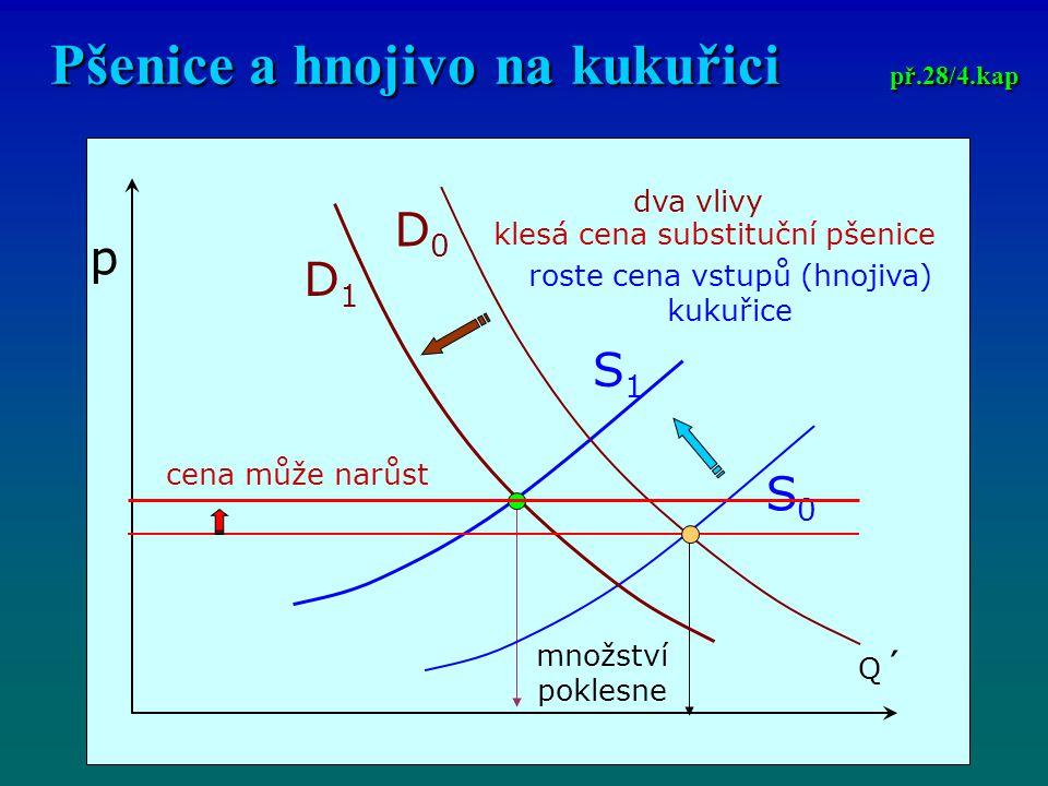 Pšenice a hnojivo na kukuřici př.28/4.kap