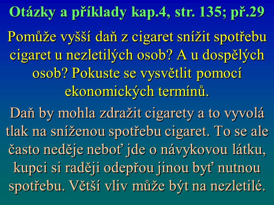 Otázky a příklady kap.4, str. 135; př.29