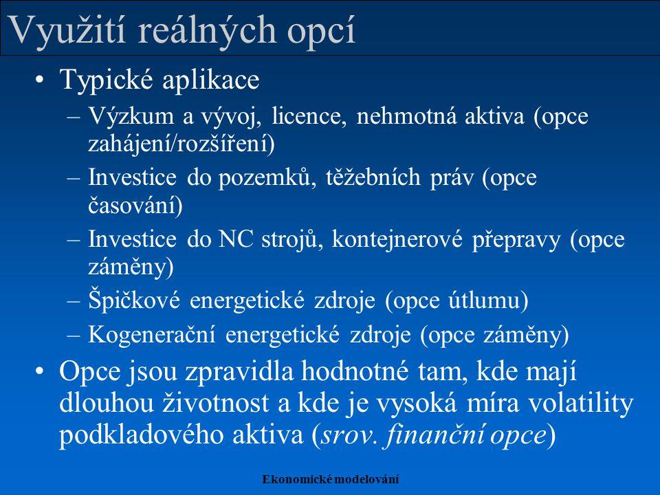 Ekonomické modelování