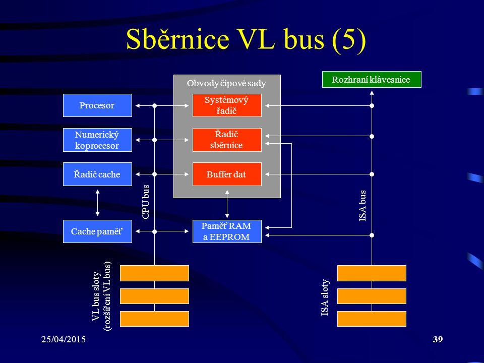 VL bus sloty (rozšíření VL bus)