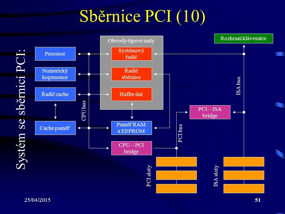 Systém se sběrnicí PCI: