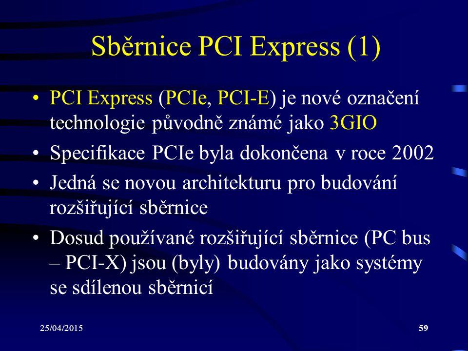 Sběrnice PCI Express (1)