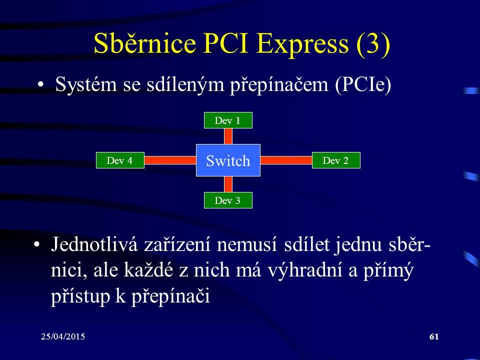 Sběrnice PCI Express (3)