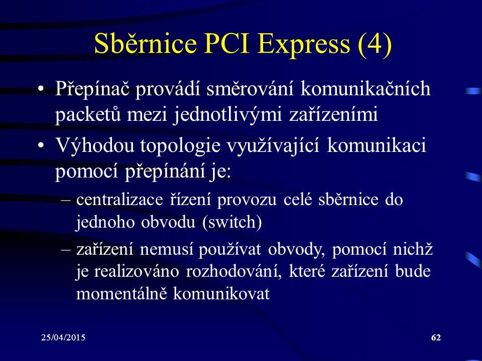 Sběrnice PCI Express (4)