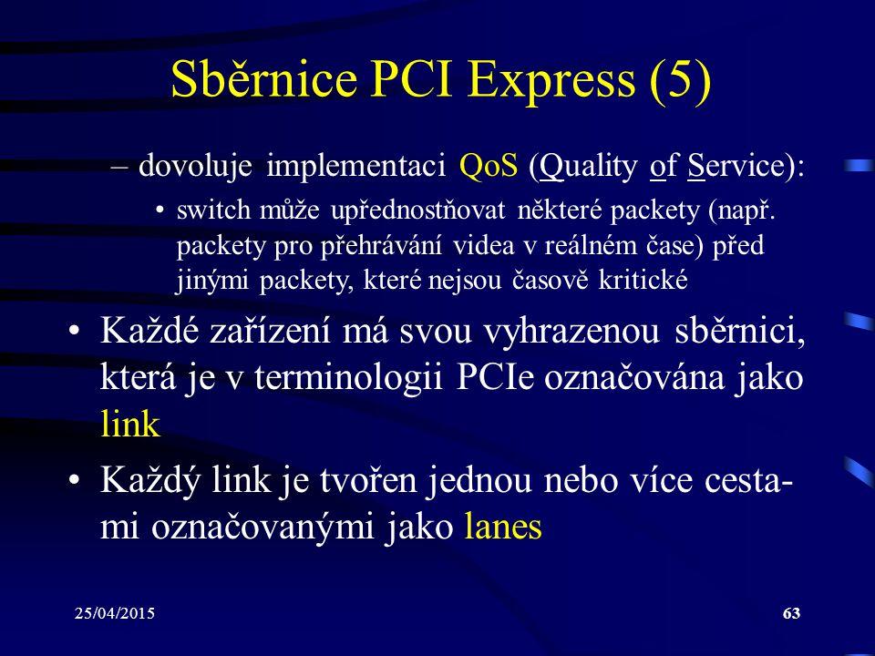 Sběrnice PCI Express (5)