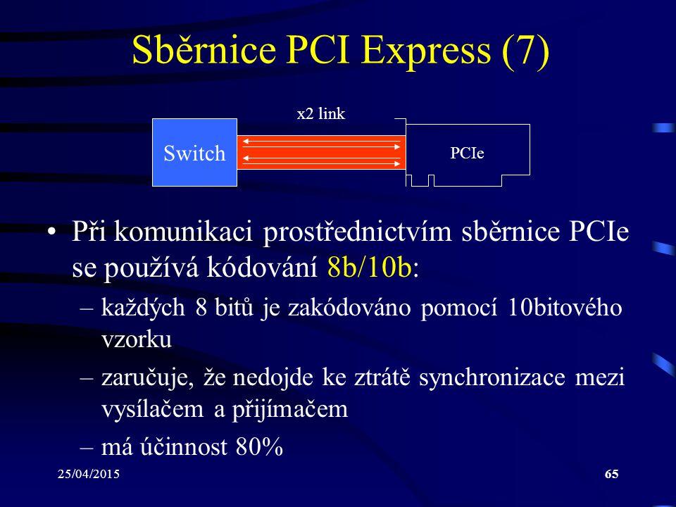 Sběrnice PCI Express (7)