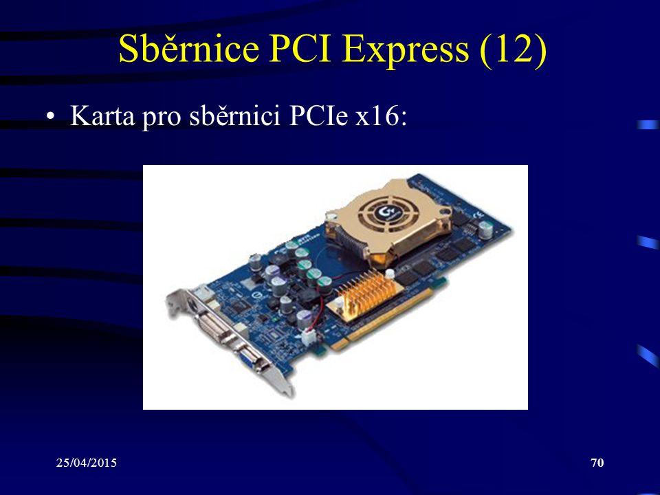 Sběrnice PCI Express (12)