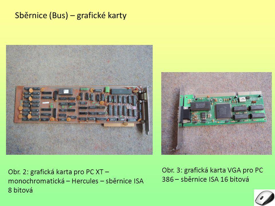 Sběrnice (Bus) – grafické karty