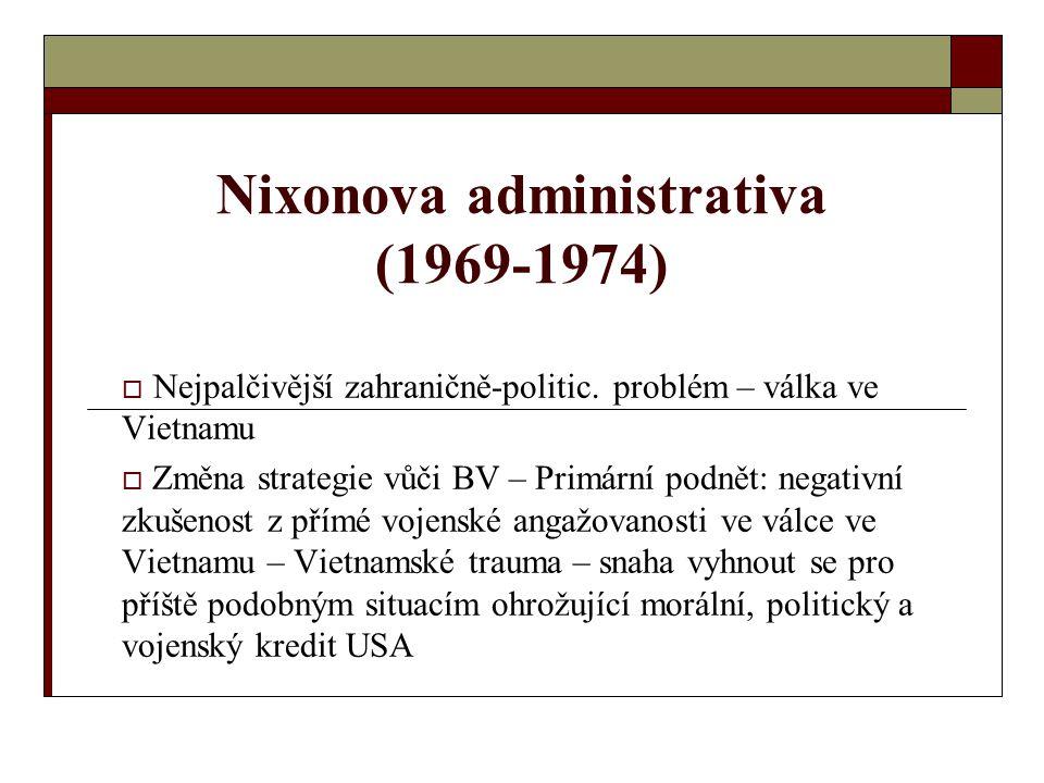 Nixonova administrativa (1969-1974)