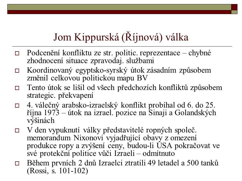 Jom Kippurská (Říjnová) válka