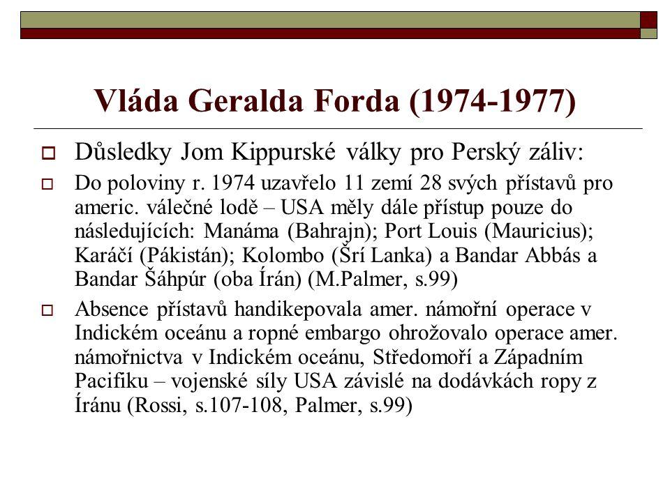 Vláda Geralda Forda (1974-1977)