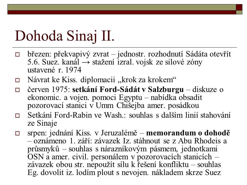 Dohoda Sinaj II.