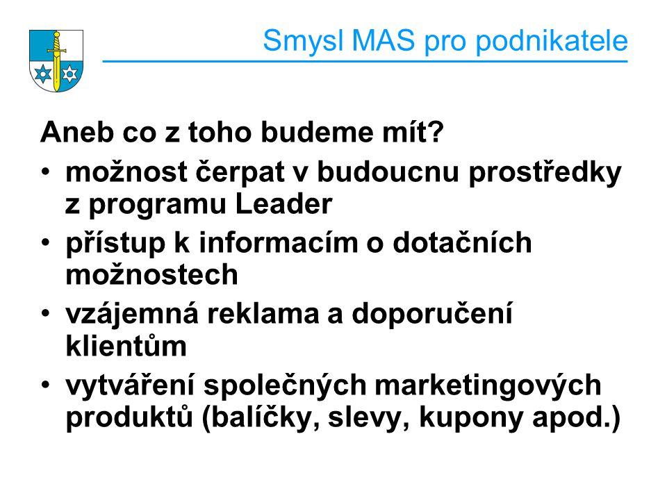 Smysl MAS pro podnikatele