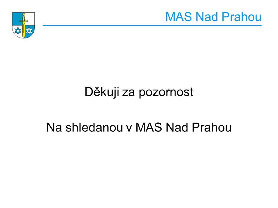 Na shledanou v MAS Nad Prahou