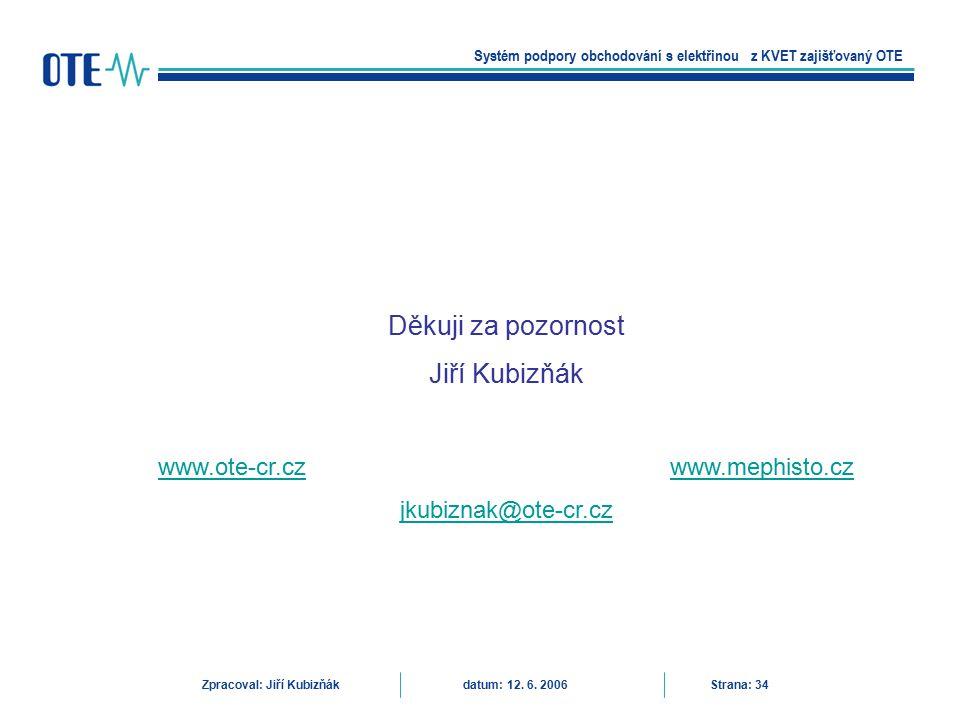 www.ote-cr.cz www.mephisto.cz