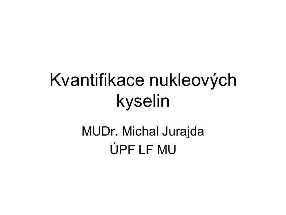 Kvantifikace nukleových kyselin