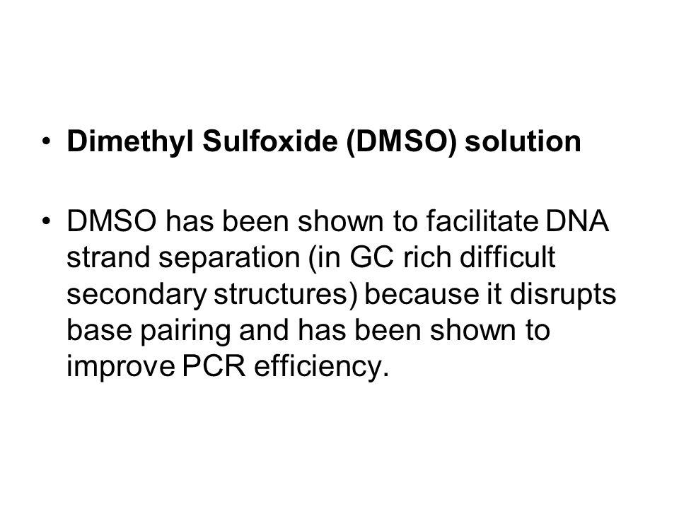Dimethyl Sulfoxide (DMSO) solution