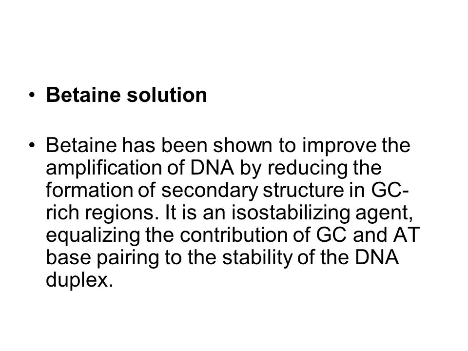 Betaine solution