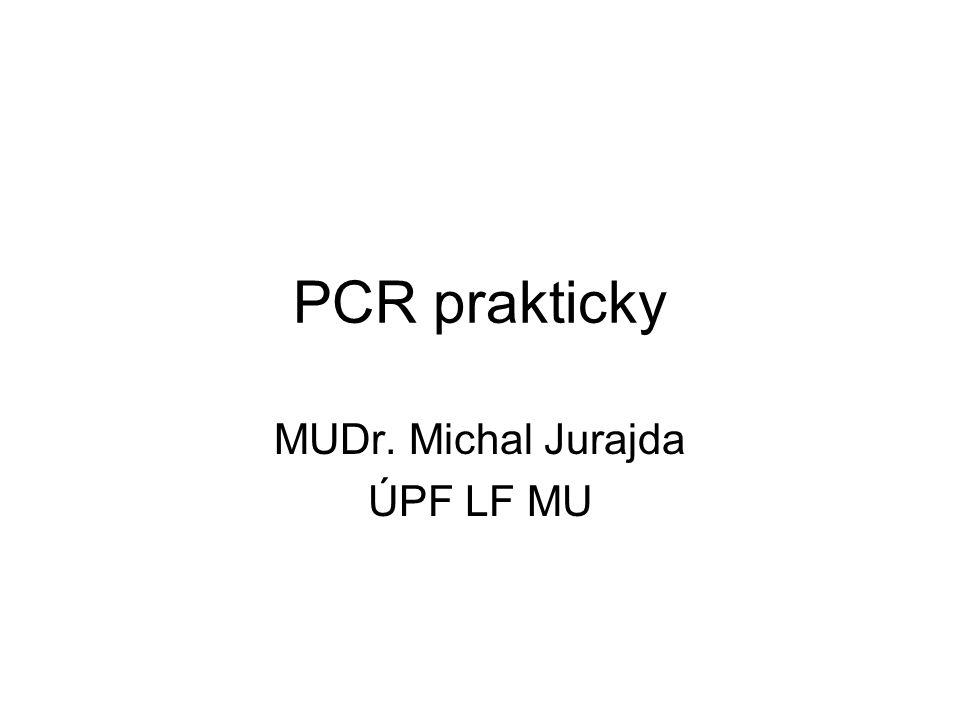 MUDr. Michal Jurajda ÚPF LF MU