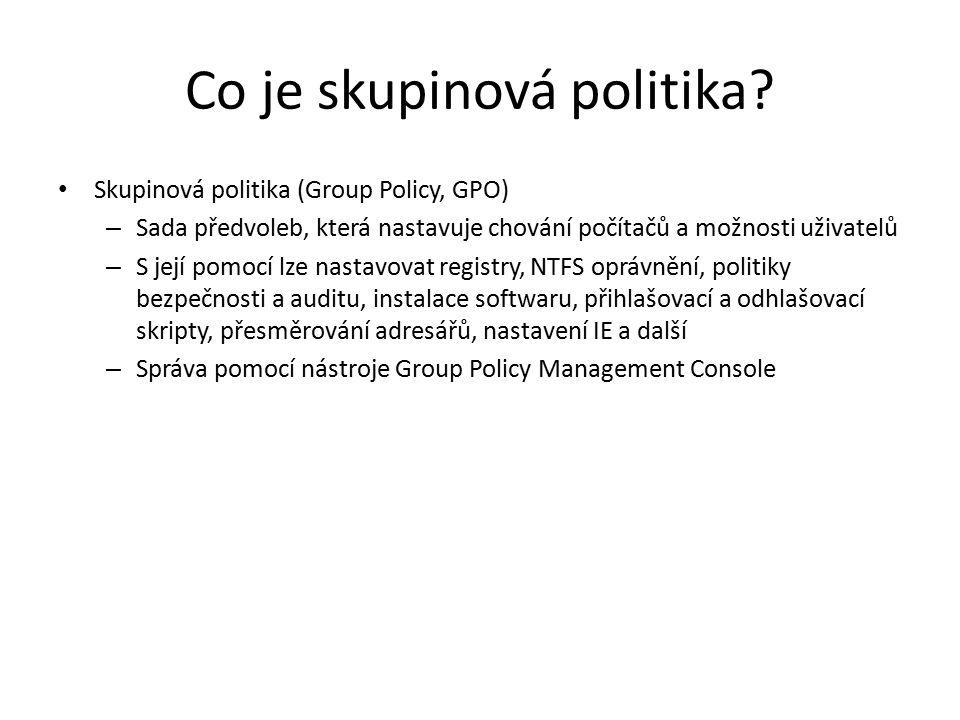 Co je skupinová politika