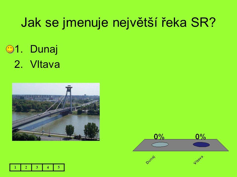 Jak se jmenuje největší řeka SR
