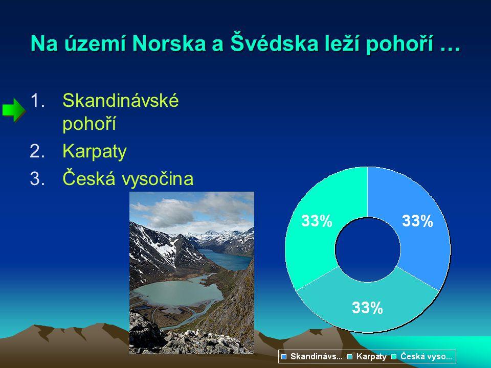 Na území Norska a Švédska leží pohoří …