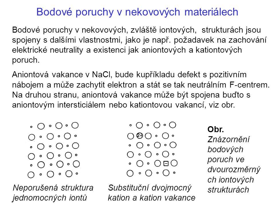 Bodové poruchy v nekovových materiálech