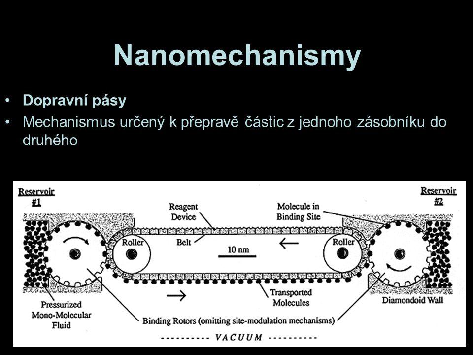 Nanomechanismy Dopravní pásy