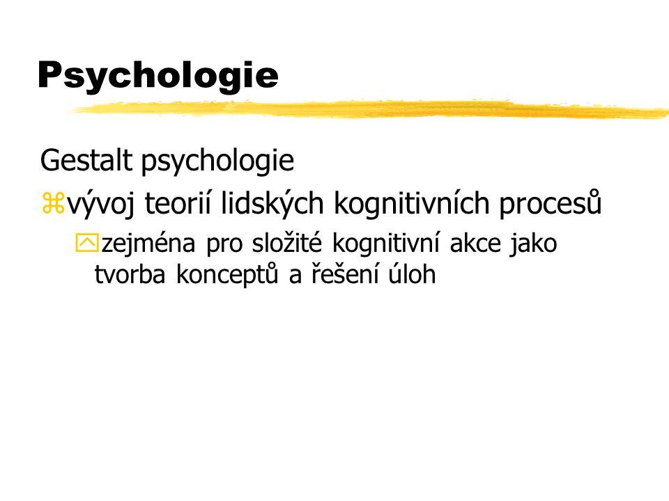 Psychologie Gestalt psychologie