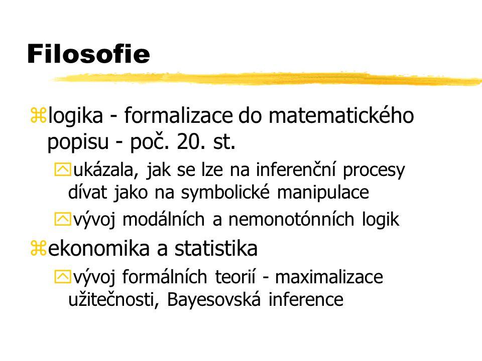 Filosofie logika - formalizace do matematického popisu - poč. 20. st.