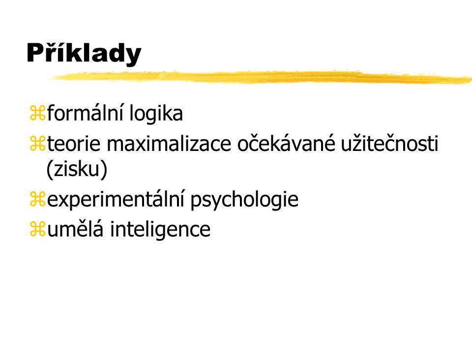 Příklady formální logika