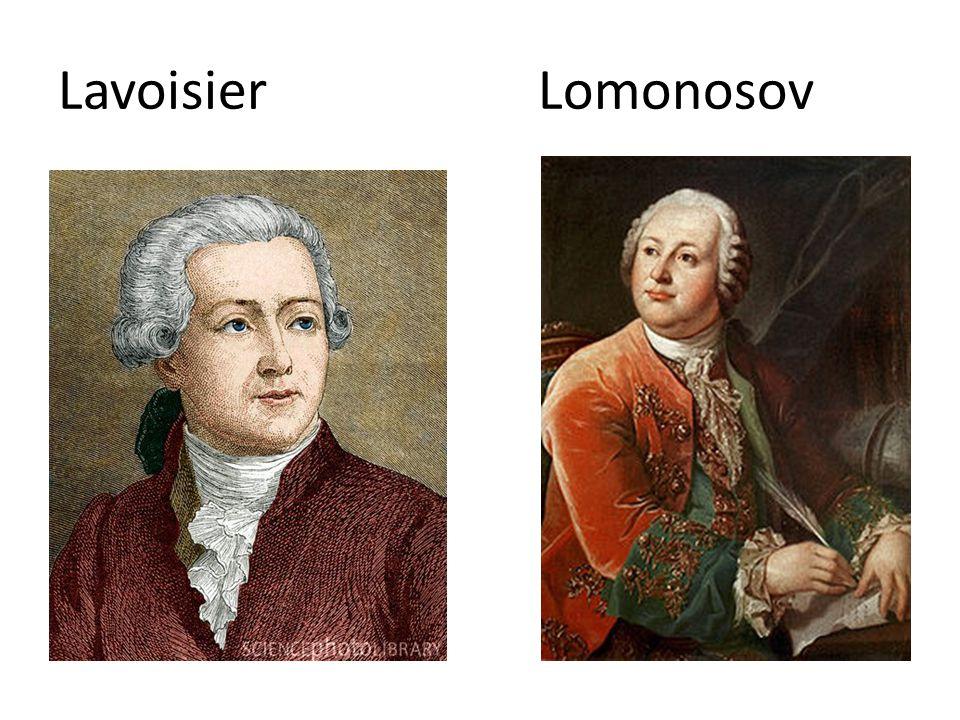 Lavoisier Lomonosov