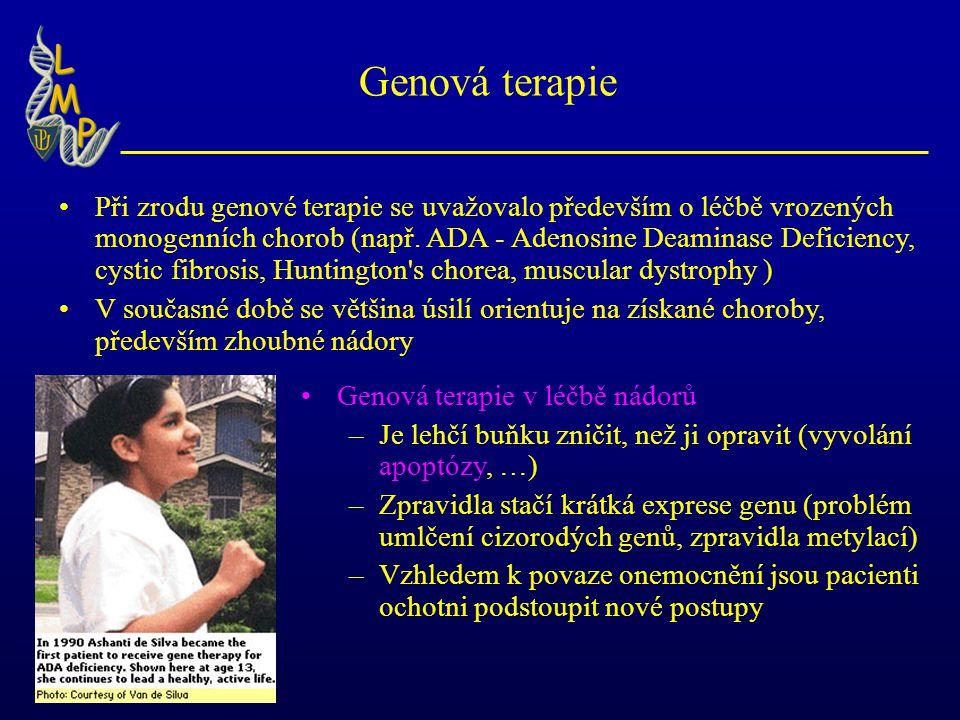 Genová terapie