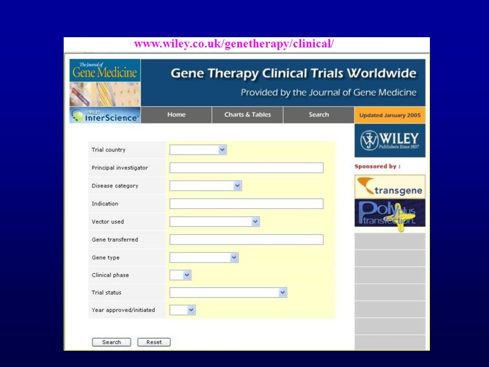 www.wiley.co.uk/genetherapy/clinical/