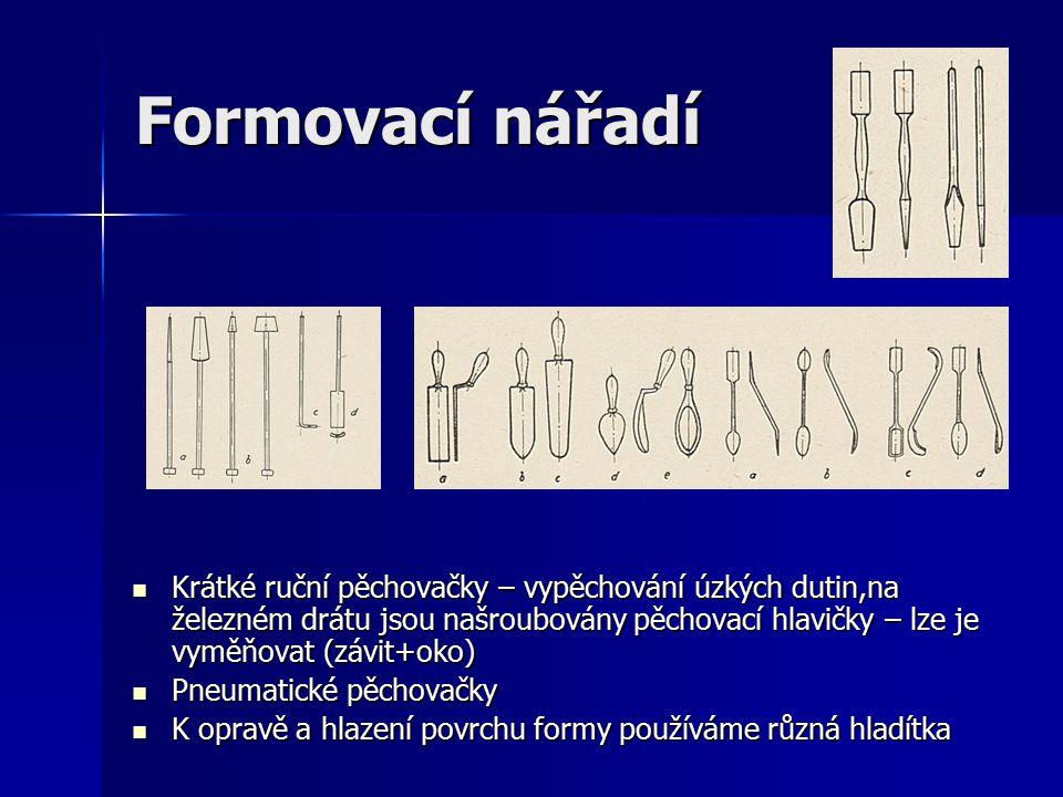 Formovací nářadí