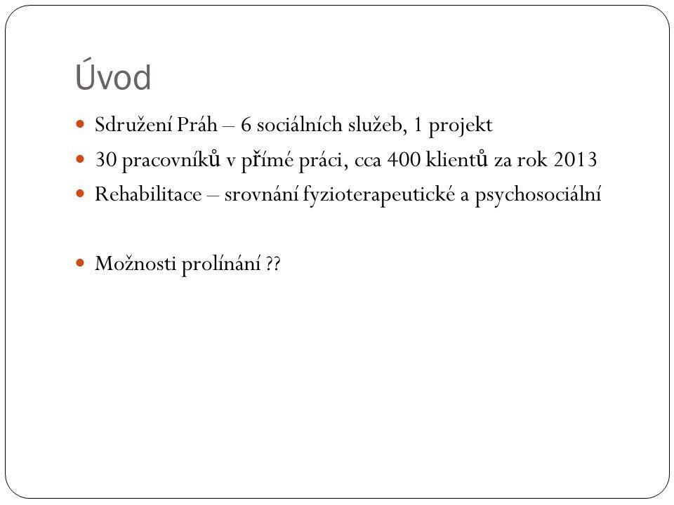 Úvod Sdružení Práh – 6 sociálních služeb, 1 projekt