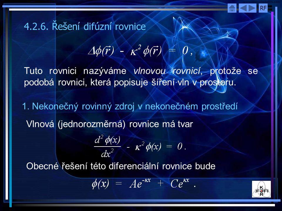 4.2.6. Řešení difúzní rovnice