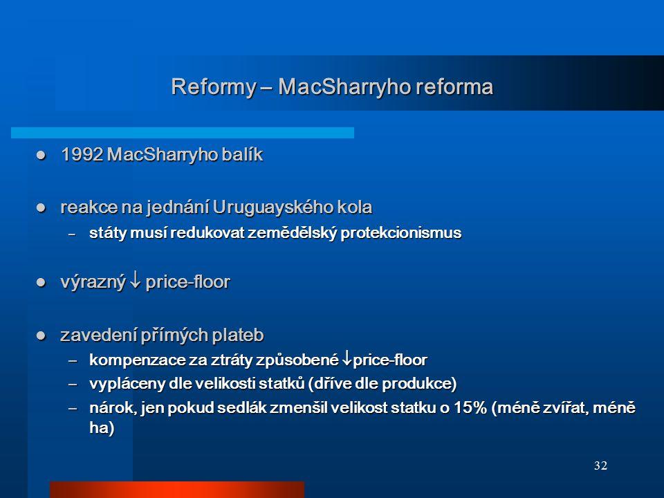 Reformy – MacSharryho reforma
