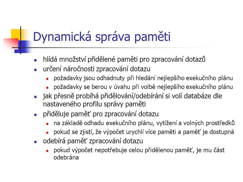 Dynamická správa paměti