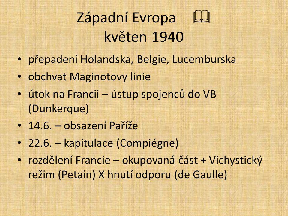 Západní Evropa květen 1940