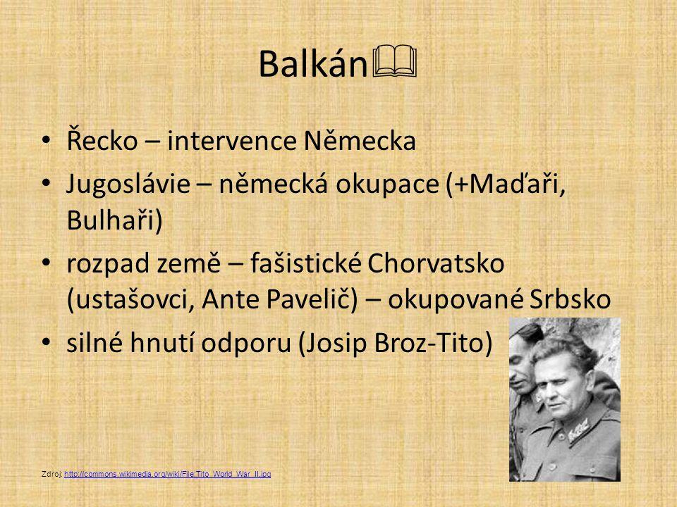 Balkán Řecko – intervence Německa