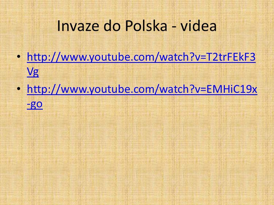Invaze do Polska - videa