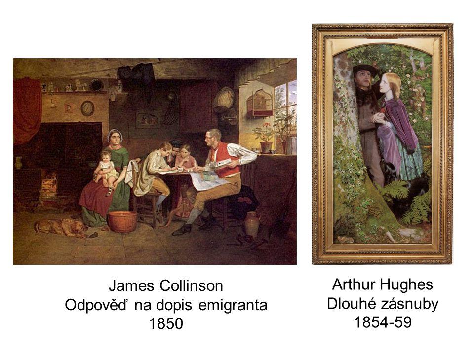 James Collinson Odpověď na dopis emigranta 1850
