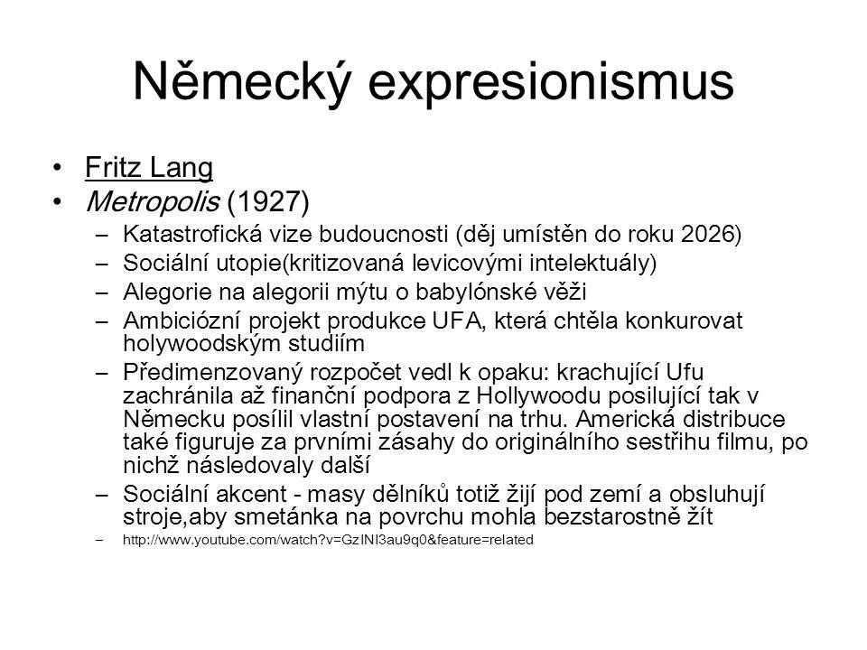 Německý expresionismus